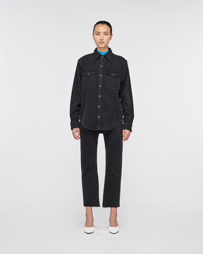 Melrose Denim Shirt BlackNight