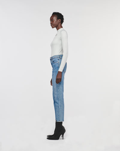 Kate Traditional Denim Pant Blue Moon
