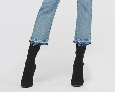 Alicia Straight Denim Pant Moonrise