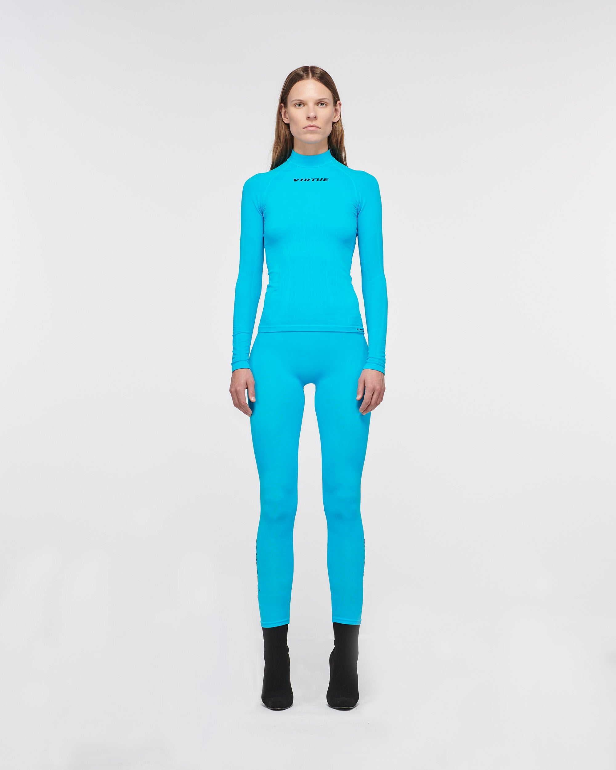 Beverly Hills Seamless Legging Turquoise