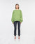 Venice Crew Neck Sweater Green