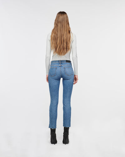 Margot Bootcamp Skinny Denim Pant Blue Moon