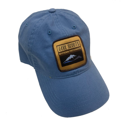 Relaxed Golf Hat with Girl Scouts of NYPENN Pathways Patch