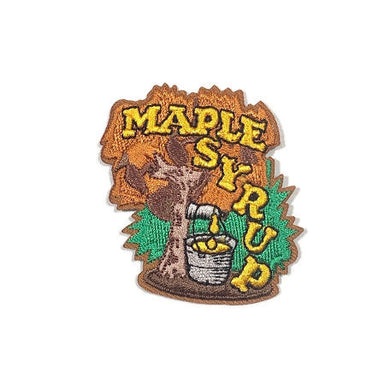Maple Syrup Fun Patch For Maple Weekend At Camp Trefoil