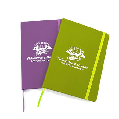 Camp Journal Notebook Let's Go On An Adventure