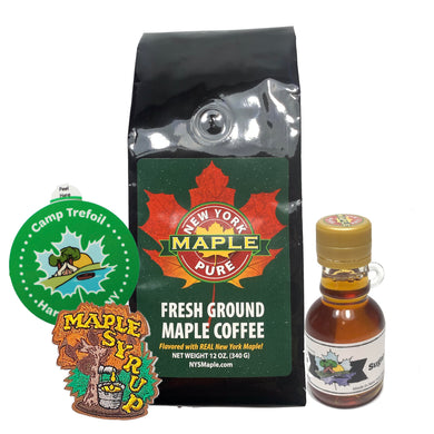 *Small Bundle* Maple Coffee Or Maple Tea Bundle With Small Syrup