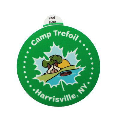 Camp Trefoil Maple Leaf Sticker For Maple Weekend At Camp Trefoil