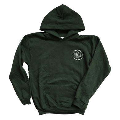 Youth Trefoil Hoodie for Maple Weekend At Camp Trefoil