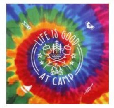Tie Dye Life Is Good At Camp Bandanna | NYPENN Pathways