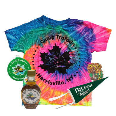 *Large Bundle* Tie Dye Shirt and Maple Syrup for Maple Weekend At Camp Trefoil