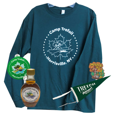 *Long Sleeve Bundle* Long Sleeve Shirt and Maple Syrup for Maple Weekend At Camp Trefoil