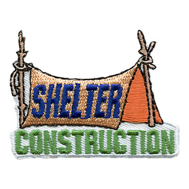 Shelter Construction Fun Badge