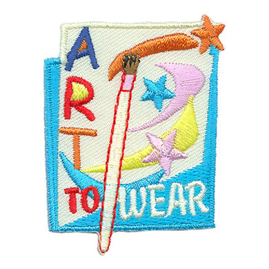 Art To Wear Badge Fun Patch