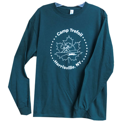 Youth Long Sleeve Shirt for Maple Weekend At Camp Trefoil