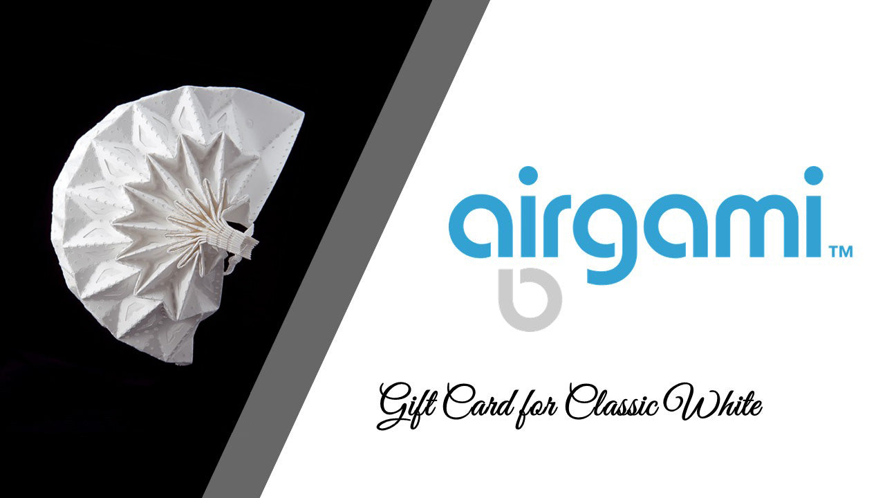 Airgami Gift Cards for Classic White