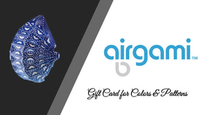Airgami Gift Cards for Colors and Patterns