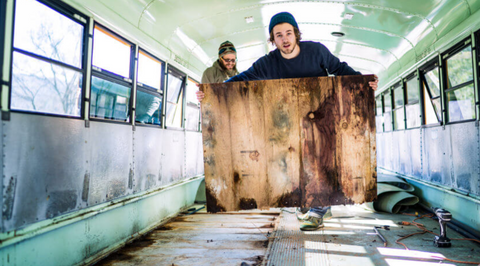 Gutting the bus expedition happiness