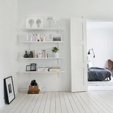 White room small spaces