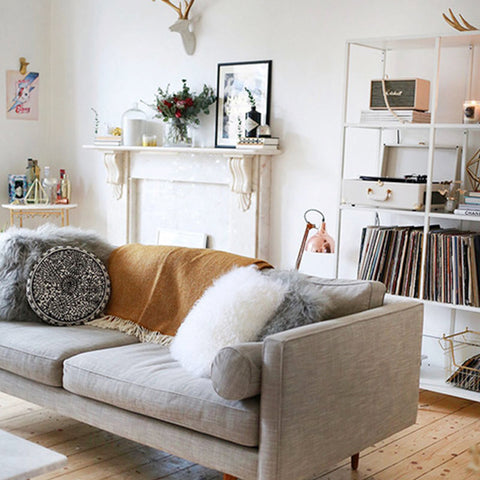 Sofa with legs for small spaces