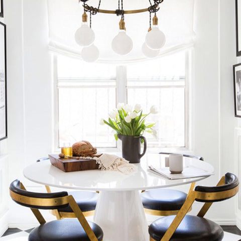 Round table for small spaces