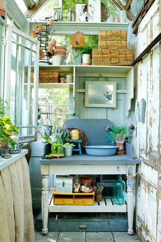 garden working from home pod