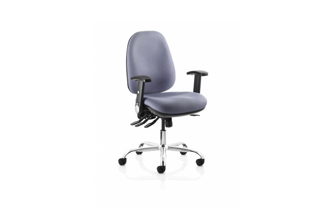 The Tormar Home Office Bundle - Re-Act Chair, Forecast Colour