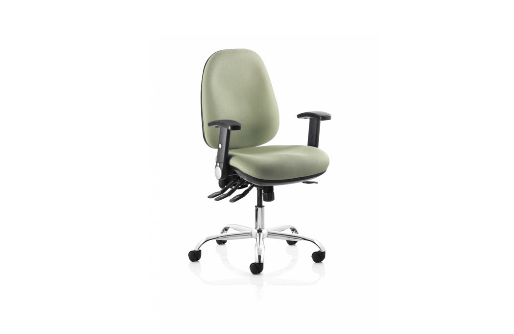 The Tormar Home Office Bundle - Re-Act Chair, Prompt Colour