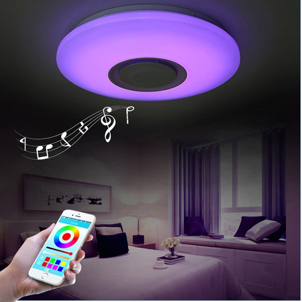 LED Smart Bluetooth Music Ceiling Light
