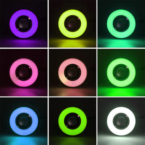 Bluetooth LED Music Light Remote Control Speaker