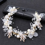Bride Wedding Hair  Flower Headbands Accessories