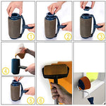 Paint Roller Brush Handle Tool