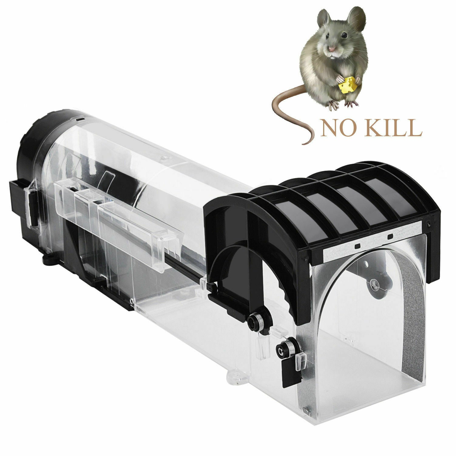 Reusable Smart Humane Mouse Trap