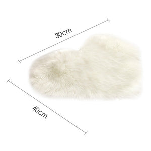 Artificial Sheepskin Carpet Washable Seat Pad