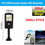 Powerful Remote Control Upgraded COB Solar Light