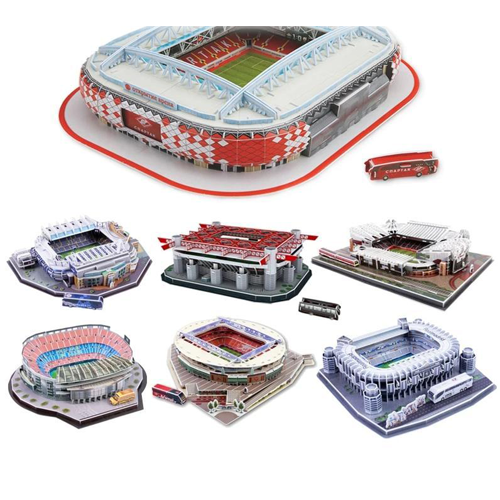 World Football Stadium 3D Puzzle Jigsaw