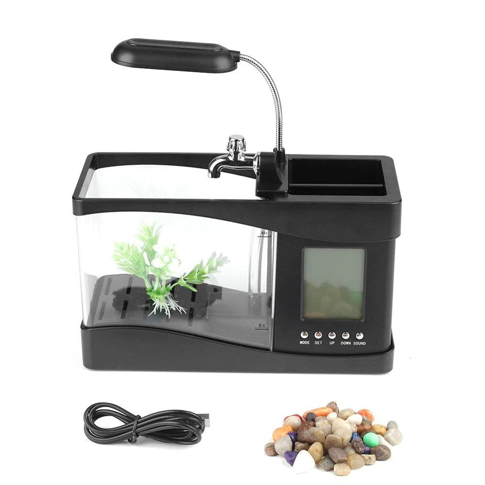 USB Mini Ornamental Ecological Fish Tanks