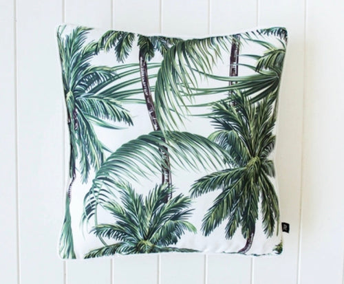 Outdoor Door Cushions - Tropical Palm - 45 cm x 45 cm