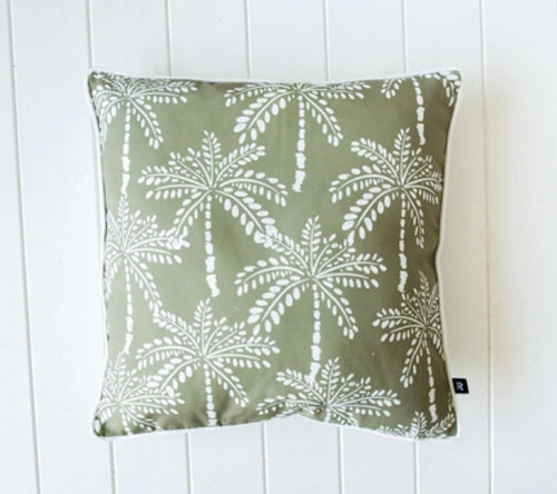 Outdoor Door Cushions - Sage Palm - 45 cm x 45 cm