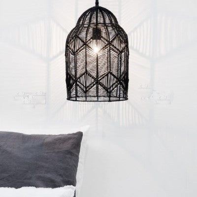 Kudu Black Pendant Light