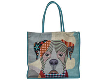 Load image into Gallery viewer, Linen Shopping Tote