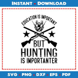 Education Is Important But Hunting Importanter SVG Files