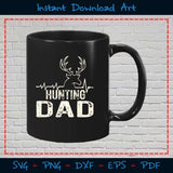Hunting Dad SVG Cutting Printable Files