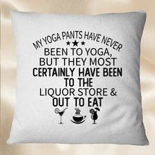 Load image into Gallery viewer, My Yoga Pants Have Never Been To SVG Printable Files