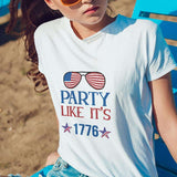Party Like It's 1776 SVG Cutting Printable Files