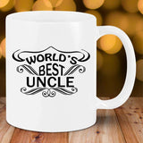 Worlds Best Uncle SVG PNG Printable Files