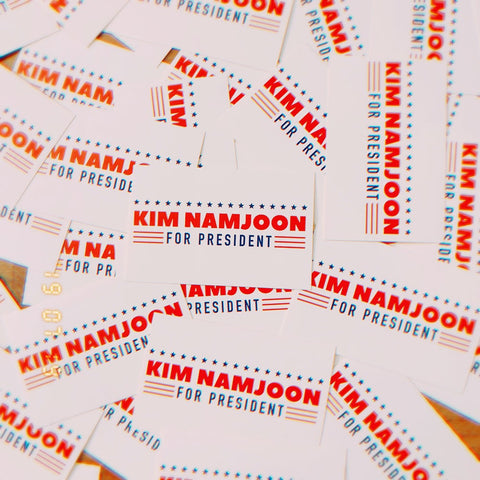 Namjoon for President Sticker