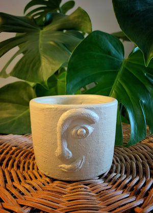 Open image in slideshow, ON PRE-ORDER: Handcrafted Hiwaga Face Pot