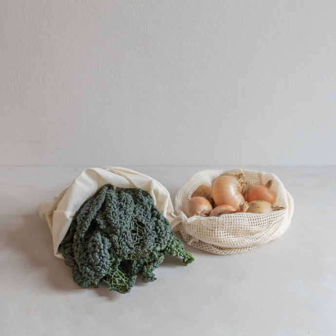 Reusable produce/bread bags - set of 2