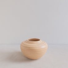 Load image into Gallery viewer, Vintage vase - beige cone
