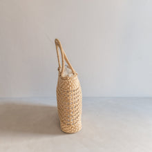 Load image into Gallery viewer, Vintage paper straw handbag - Capucine